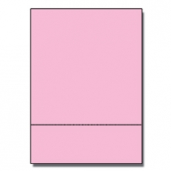 Perforated at 3in Exact Pink 8-1/2x14 24lb 500/pkg