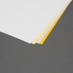 Pre-Perfed Carbonless 4-Part Reverse 11-1/2x17 125forms/pkg