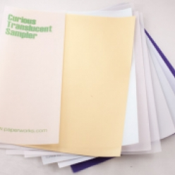Curious Translucent Iridescent Wht 11x17 27lb/100g 100/pkg
