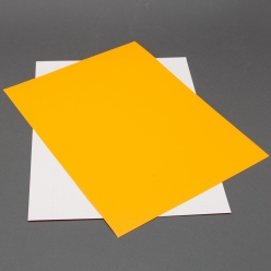Astrobright Cosmic Orange 8-1/2x11 Label Paper 100/pkg