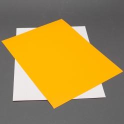Astrobright Cosmic Orange 8-1/2x11 Label Paper 100/pkg