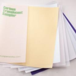 Curious Translucent Iridescent Wht 12x18 27lb/100g 100/pkg