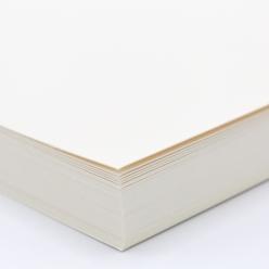 Curious Cover White Gold 8-1/2x11 92lb/250g 100/pkg
