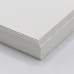 French Construction Recycled White 8-1/2x11 100lb 100/pkg