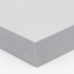 Stardream Cover Silver 12x18 105lb/285g 100/pkg