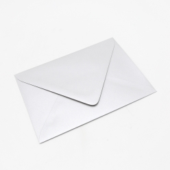 Stardream Silver A-2 Euro Flap [4-3/8x5-3/4] Envelope 50/pkg