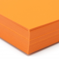 Curious Skin Orange 12x18 100lb/270g Cover 100/pkg