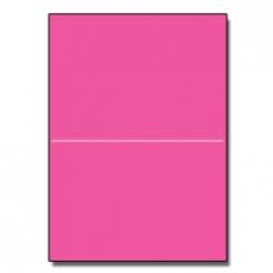 Half-Fold Brochure 8-1/2x11 65lb Astro Fireball Fuschia 250p