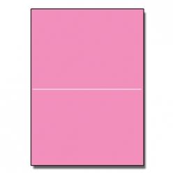 Perf at 5-1/2 Astro 65lb Cover Pulsar Pink 8-1/2x11 250/pkg