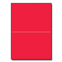 Half-Fold Brochure 8-1/2x11 65lb Astro Re-Entry Red 250/pkg
