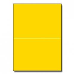 Half-Fold Brochure 8-1/2x11 65lb Astro Solar Yellow 250/pkg