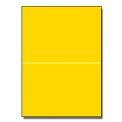 Perforated at 5-1/2 Astro Solar Yellow 8-1/2x11 24lb 500/pkg