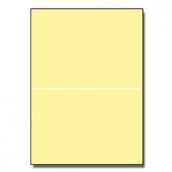 Perforated at 5-1/2 Exact Yellow 8-1/2x11 24lb 500/pkg