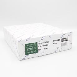 Cranes Crest Natural White Wove 8-1/2x11 24lb 500/pkg