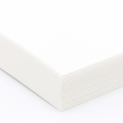 Classic Laid Recycled Bright White 8-1/2x11 80lb Cover 250/pkg