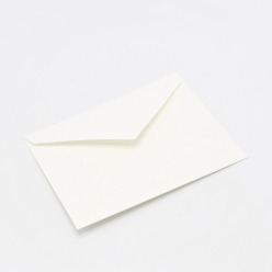 Crane's Lettra Pearl White Envelope A7 Inside no glue 50/pkg