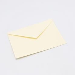 Crane's Lettra Ecru 4Bar Envelope Pointed Flap 50pkg