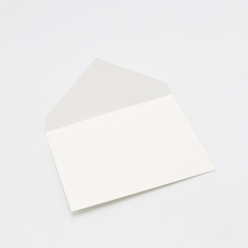 Crane's Lettra Pearl White A1 Envelope Pointed Flap 50pkg