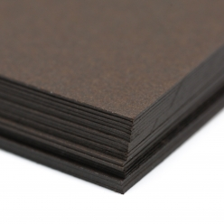 Colorplan Bitter Chocolate 8.5x11 130lb cover 48pk