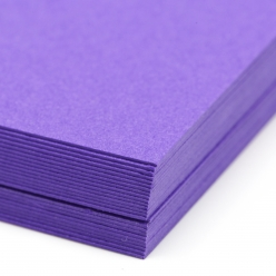 Colorplan Purple 8.5x11 130lb cover 48pk
