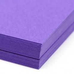 Colorplan Purple 8.5x11 100lb Cover 100pk