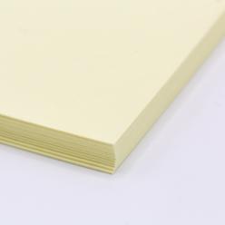 Colorplan Sorbet Yellow 8.5x11 100lb Cover 100pk