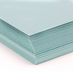 Basis Premium Cover 8-1/2x11 80lb Aqua Blue 100/pkg