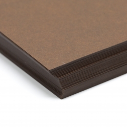 Basis Premium Cover 8-1/2x11 80lb Brown 100/pkg