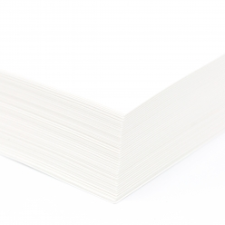 EarthChoice  Index Cover White 8-1/2x11 110lb 250/pkg
