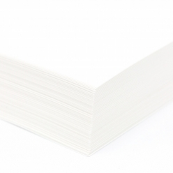 CLOSEOUTS Accent Opaque Smooth Cover White 8-1/2x11 80lb 250/pkg