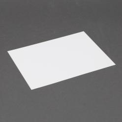 Platinum 6 Bar White Plain Card 4-5/8x6-1/4 250/box