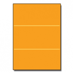 Tri-Fold Brochure 8-1/2x11 65lb Astro Cosmic Orange 250/pkg