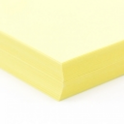 CLOSEOUTS Exact Cover Bright Yellow 8-1/2x11 65lb 250/pkg