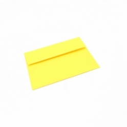 CLOSEOUTS Astrobright Solar Yellow A-6 Envelope 250/box