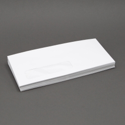 White Wove #10 24lb Window Envelope 500/box