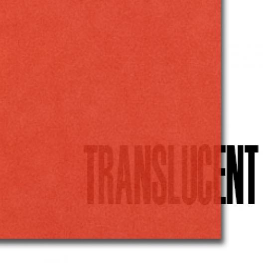 Curious Translucent Flame 8-1/2x14 27lb/100g Text 100/pk