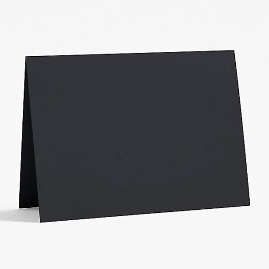 Basis Premium A-9 Foldover Cards Black 8-1/2x11 100/pkg