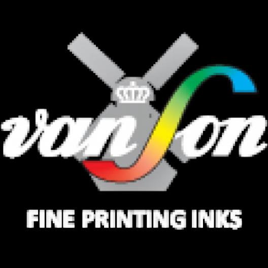 Van Son Rubber Base Plus Green Ink 2.2lb