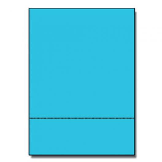 Perf at 3-2/3 Astro 65lb Cover Lunar Blue 8-1/2x11 250/pkg