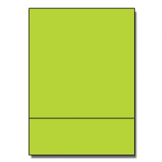Perf at 3-1/2 Astro 65lb Cover Terra Green 8-1/2x11 250/pkg
