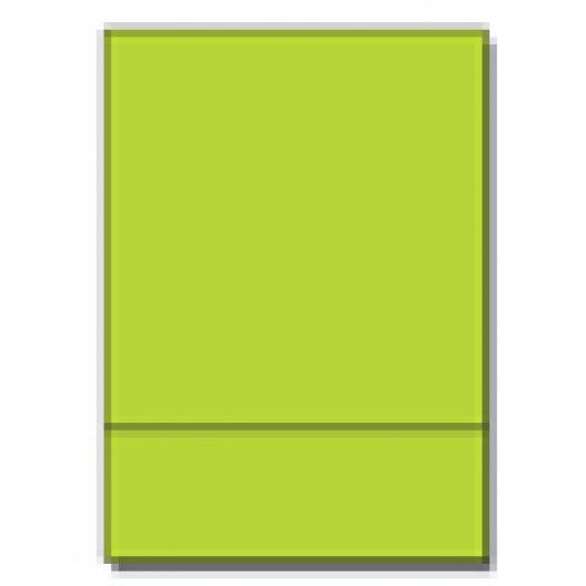 Perf at 3-2/3 Astro 65lb Cover Terra Green 8-1/2x11 250/pkg
