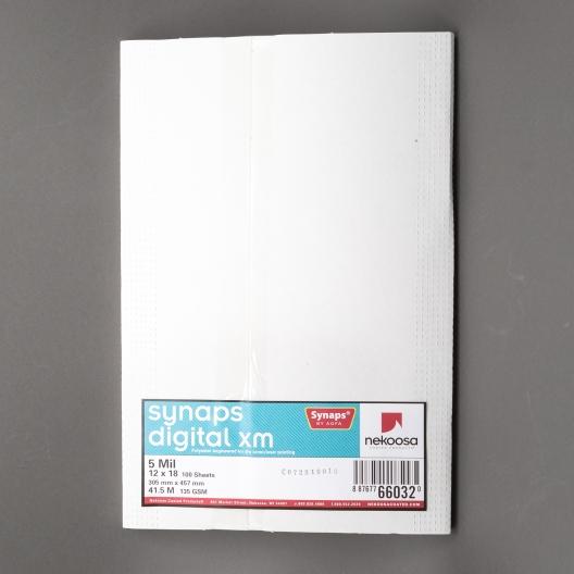 Synaps Digital XM 5mil 12x18 100/pkg
