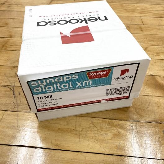 Synaps Digital XM 8.5x11 10mil 600/Case