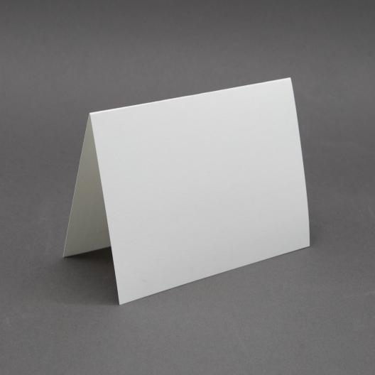 Finch Lee White Plain Foldover [6 5/8 x 10]