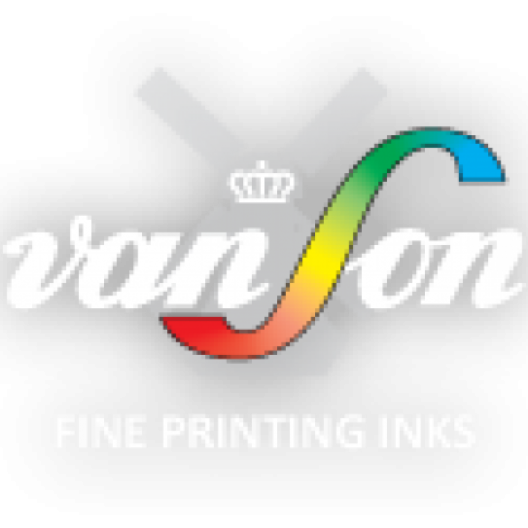 Van Son Rubber Base Pantone Purple Ink 2.2lb