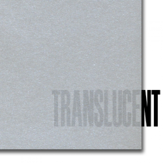 Curious Translucent Silver 8-1/2x11 27lb/100g Text 100/pkg