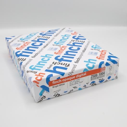 Finch Opaque Digital 8-1/2x11 65lb Cover 250/Pkg