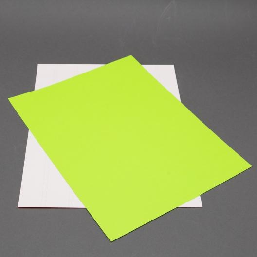 Astrobright Terra Green 8-1/2x11 Label Paper 100/pkg