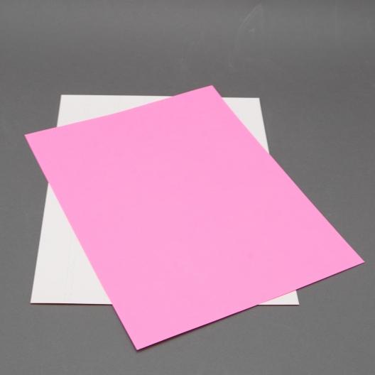 Astrobright Pulsar Pink 8-1/2x11 Label Paper 100/pkg