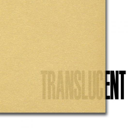 Curious Translucent Gold 11x17 27lb/100g 100/pkg